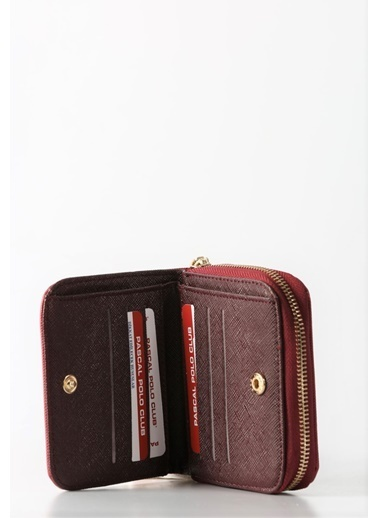 Polo Racouet Club Clutch / El Çantası Bordo